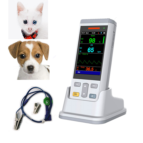 Veterinary Handheld Pulse Oximeter